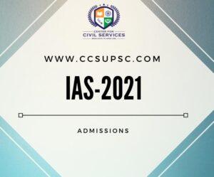 UPSC IAS Coaching UPSC CSE 2021 Coaching