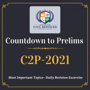 Countdown to Prelims : 2021
