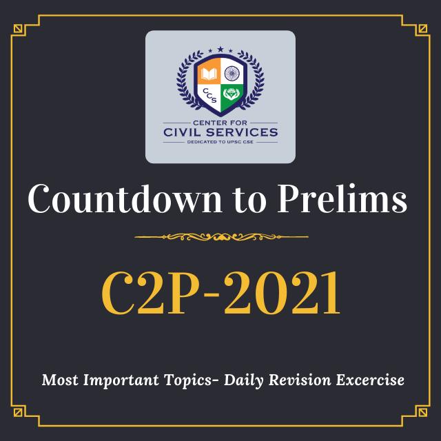 Countdown to Prelims 2021