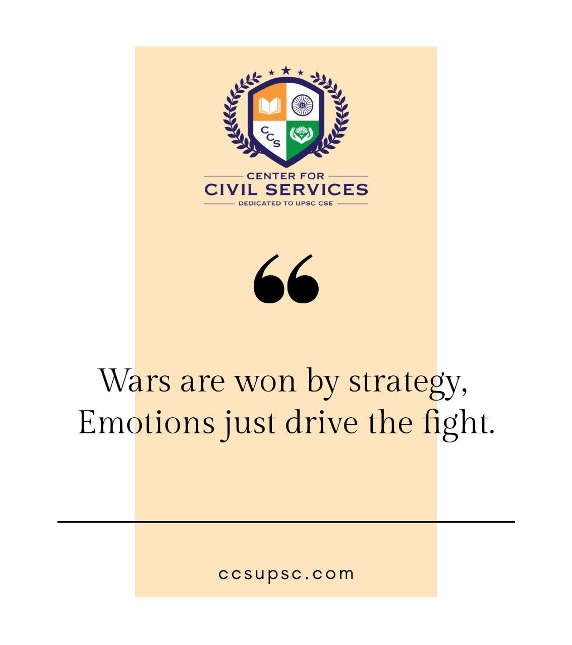 UPSC Preparation Self Study Strategy