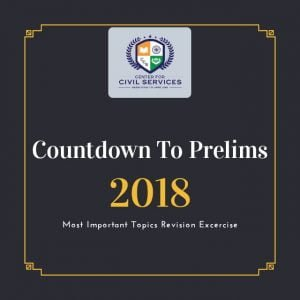 Countdown to Prelims : 2018