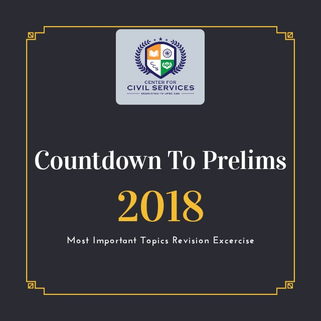 current affairs upsc prelims 2018