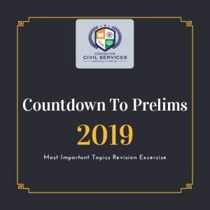 Countdown to Prelims : 2019
