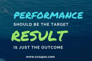 UPSC IAS Performance
