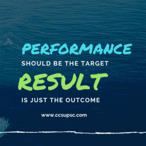Goals: Outcome, Performance & Process