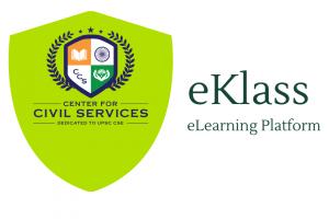 UPSc Online Coaching eKlass logo